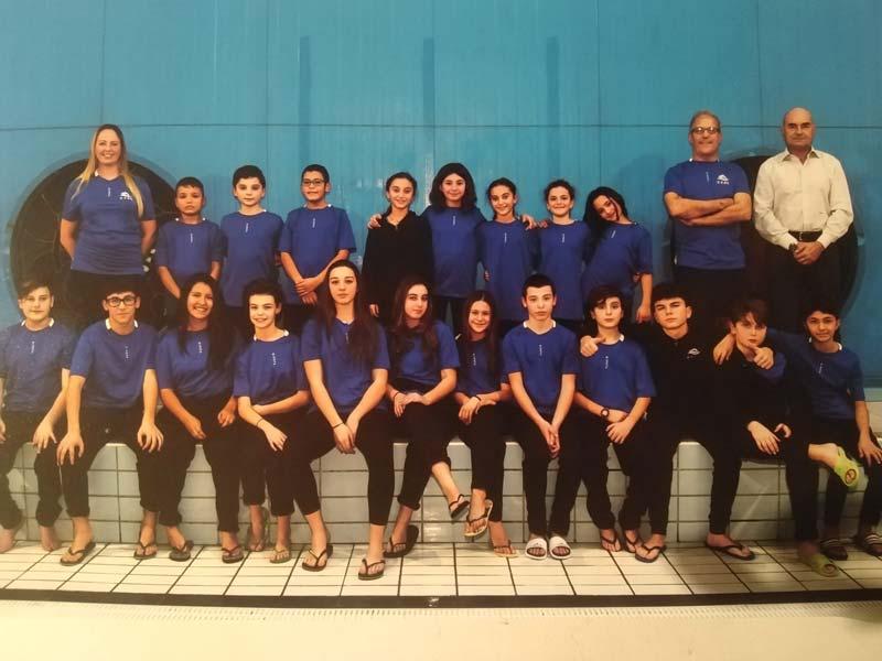 Squadra agonistica nuoto
